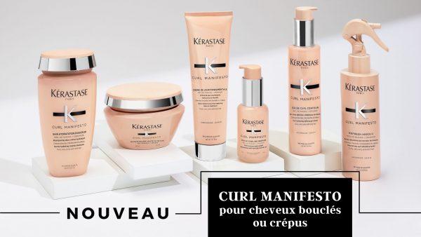 Curl Manifesto pour cheveux bouclés ou crépus