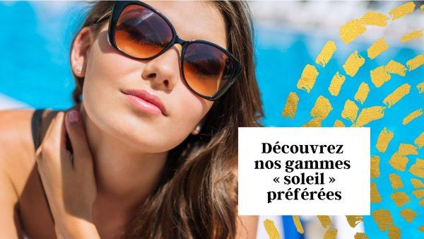 Découvrez les gammes solaires pour les cheveux