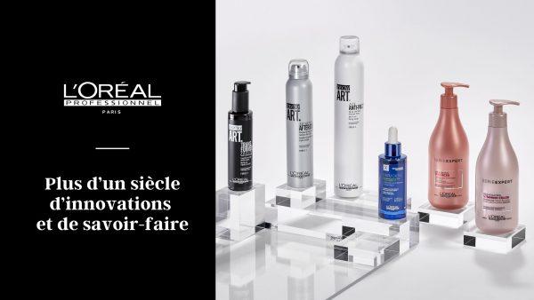 L'Oréal Professionnel innovation et savoir-faire!
